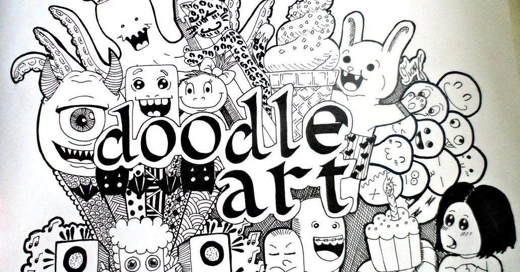 410+ Gambar Doodle Keren 3 Dimensi HD Terbaik