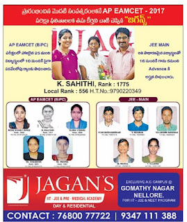 Jagans Medical academy Nellore