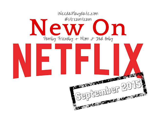 Streaming on @Netflix in September 2015 #streamteam