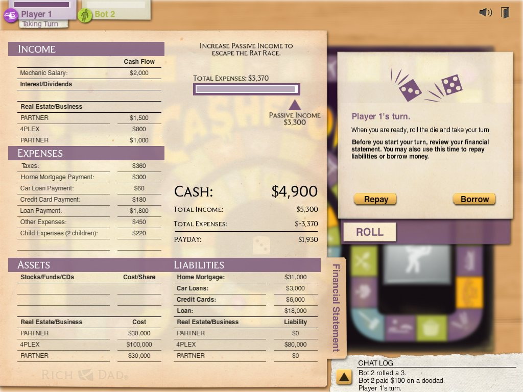 How To Play Rich Dad S Cash Flow Classic Game