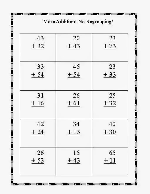 Number Names Worksheets math regrouping worksheet : Subtraction Worksheets : 1st grade subtraction worksheets without ...