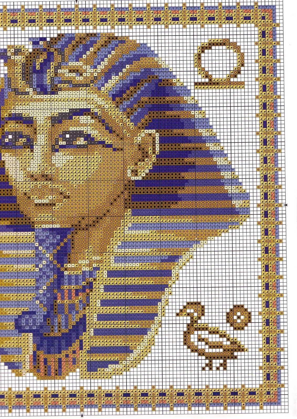 Graficos punto de cruz gratis egipto 14 - Videos de punto de cruz ...