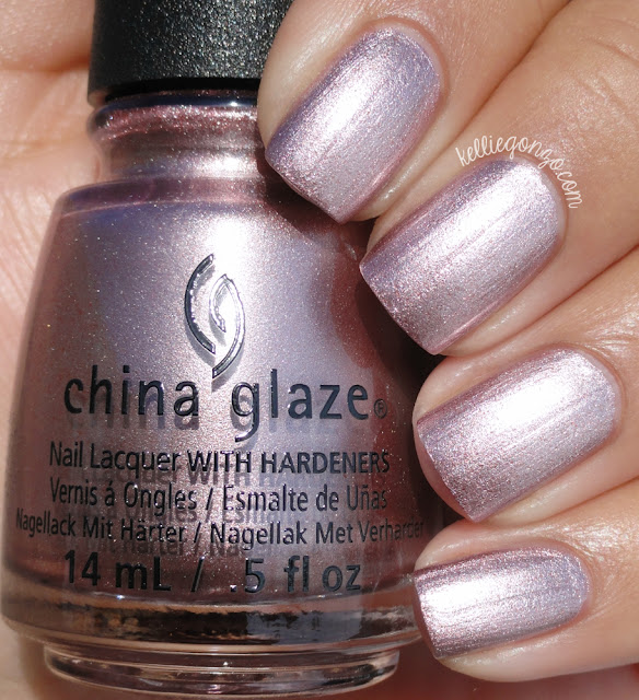 China Glaze Chrome Is Where The Heart Is
