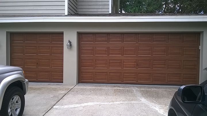2015 08 30 everything i create paint garage doors to for Paint garage door to look like wood