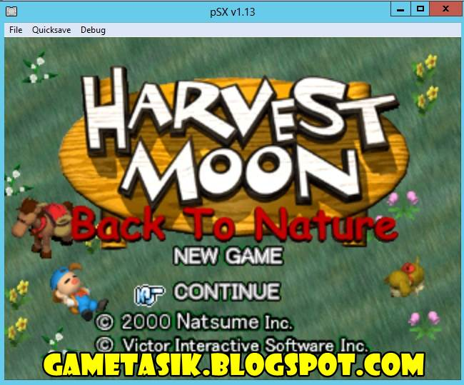Emulator Harvest Moon