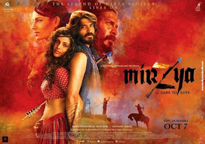 Mirzya 2016 Hindi DVDRip 200mb 480p HEVC x265