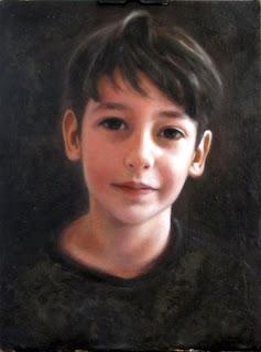 Retrato a óleo por Leo Clímaco