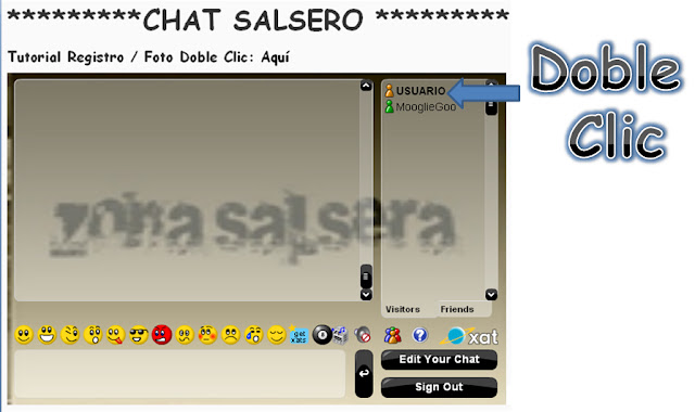 ► Tutorial CHAT SALSERO
