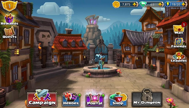 Download Dungeon Boss Mod APK v0.5.7098 Full Version Terbaru