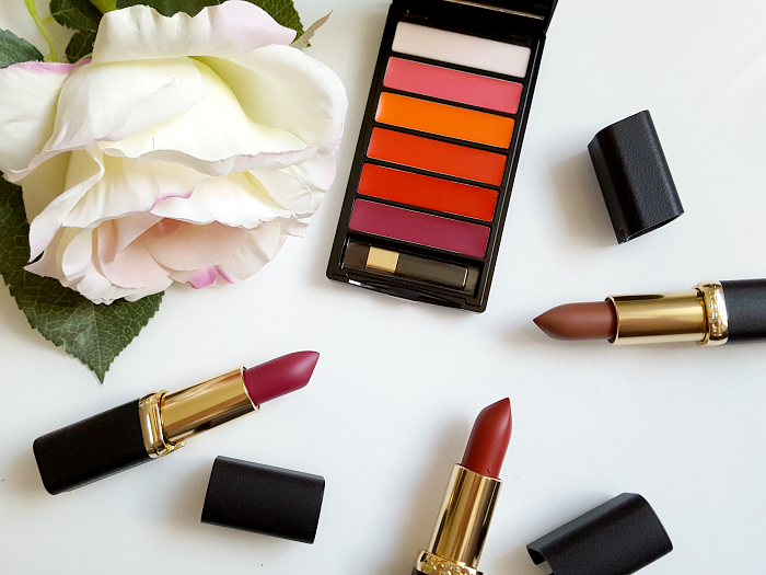 Review & Swatches: L´Oréal Paris - Color Riche La Palette Matte Bold & Matte Lipsticks