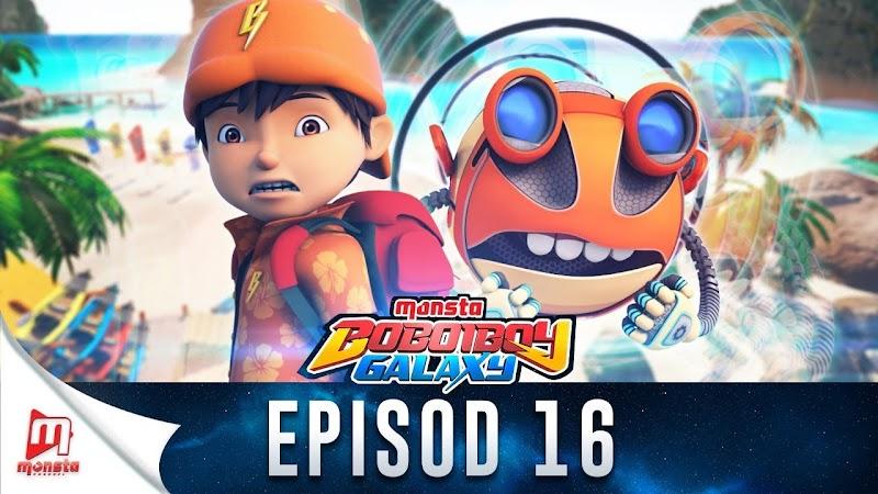 BoBoiBoy Galaxy Episode 16 - Berkelah Loopa Lupa