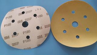 Nhám tròn lông lỗ 3M - P120