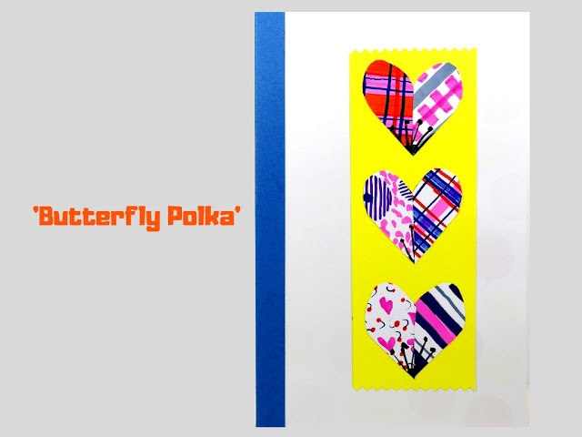 COVER: Butterfly Polka, pop up card by Minaz Jantz