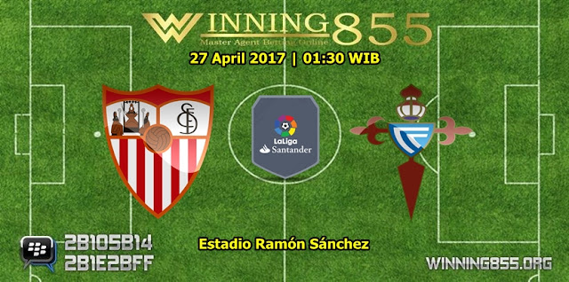 Prediksi Skor Sevilla vs Celta de Vigo 28 April 2017
