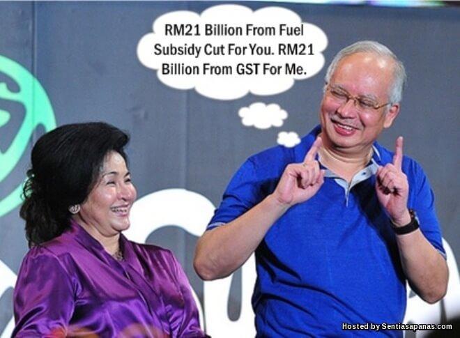 Najib-samun-gst