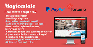 Magic Estate v1.0.2 - Real Estate Portal