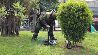 Heboh Benda Mencurigakan di Jln Juanda Medan