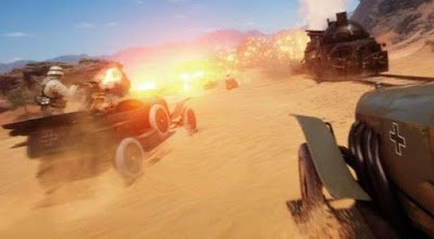 שנמוך גרפיקה מורגש בגרסאות ה-PS4 ,PS4 Pro וה-PC של Battlefield 1