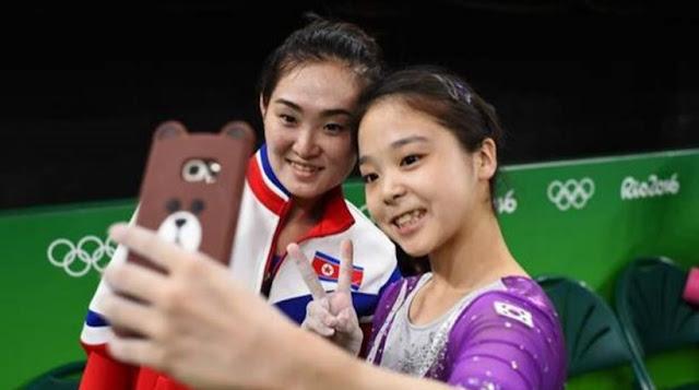 Ολυμπιακοί Αγώνες: Η σέλφι που ένωσε τη Νότιο με τη Βόρειο Κορέα!