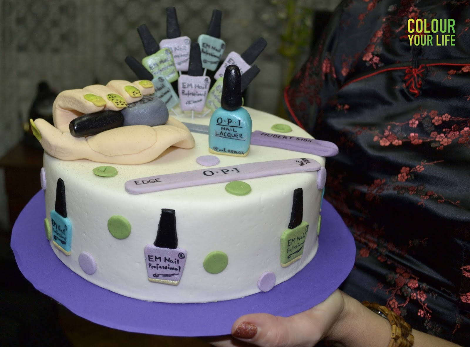 Best Nail Polish Cake Recipe