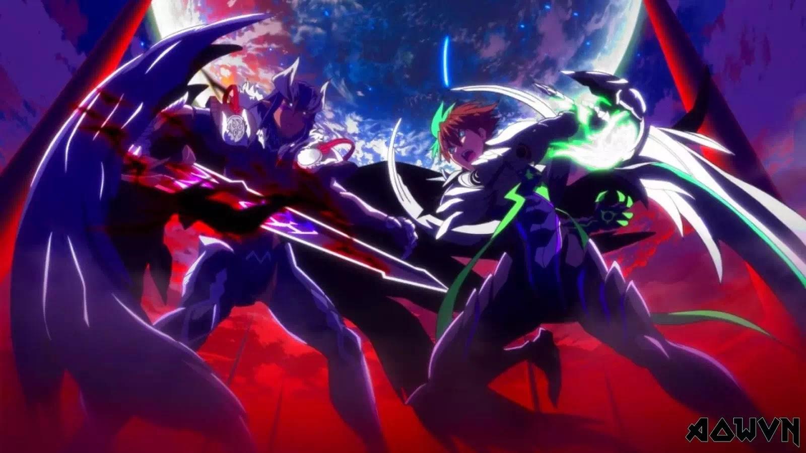 AowVN%2B%25283%2529 - [ Anime 3gp Mp4 ] Shinmai Maou no Testament BD SS1 + SS2 + OVA | Vietsub Ecchi Harem 17+