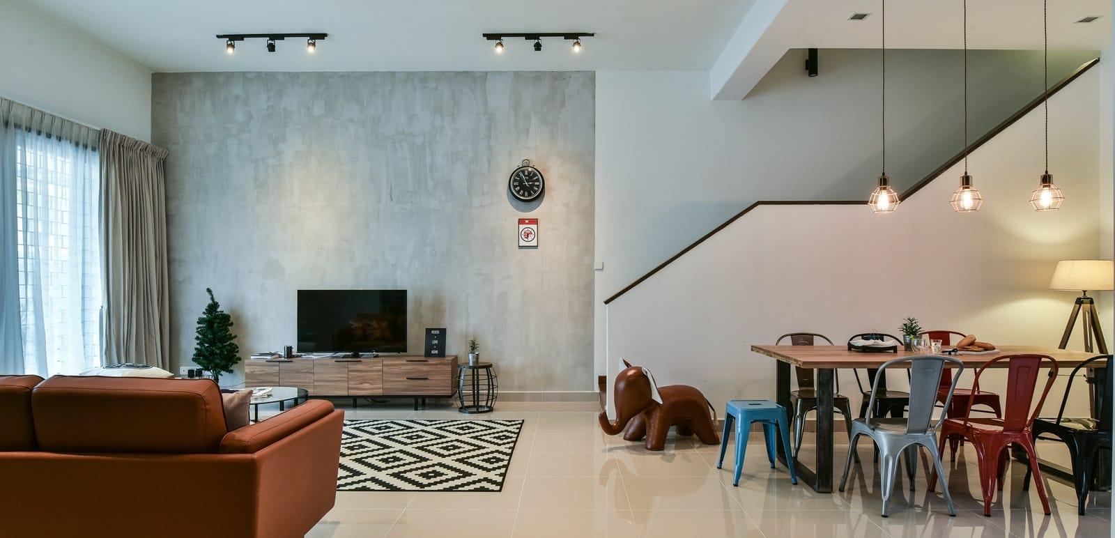 Link House Interior Design Malaysia