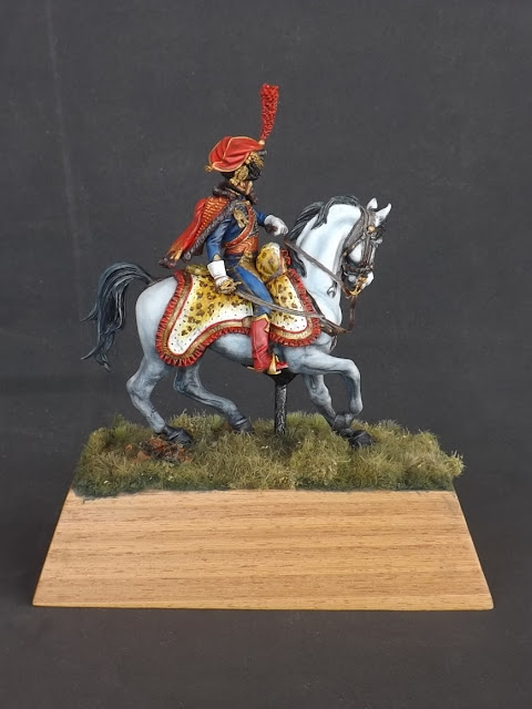 Captain of the Hussars, Elite Company 1806 - 1812 - Pegaso Miniatures 75mm New_1_004