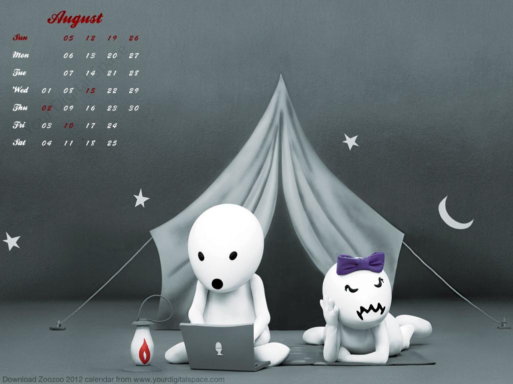free vodafone zoozoo 2012 calendar