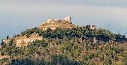 Castillo medieval de Llusá