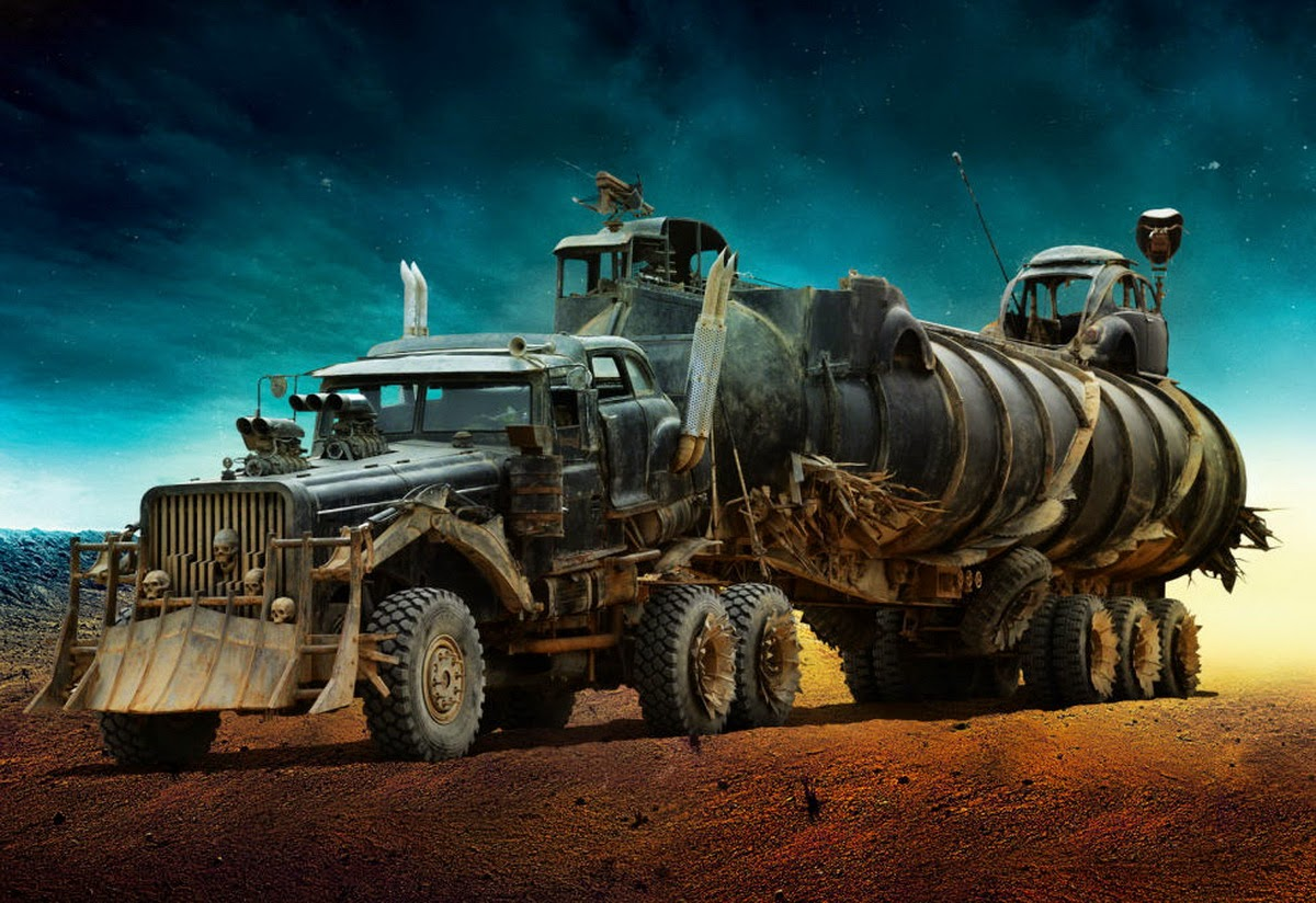 Behold Insanity Of MAD MAX: FURY ROAD Concept Art By