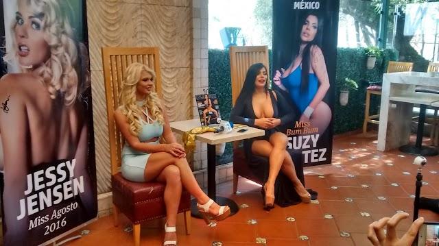 Suzy Cortez y Jessy Jensen en la Revista PLAYBOY México