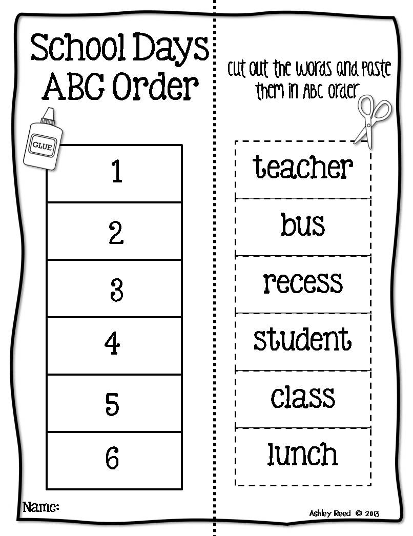 worksheet Alphabetical Order Worksheet alphabetical order worksheets for first grade graders worksheet