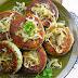 Kotlety z gotowanych ziemniaków ze szpinakiem