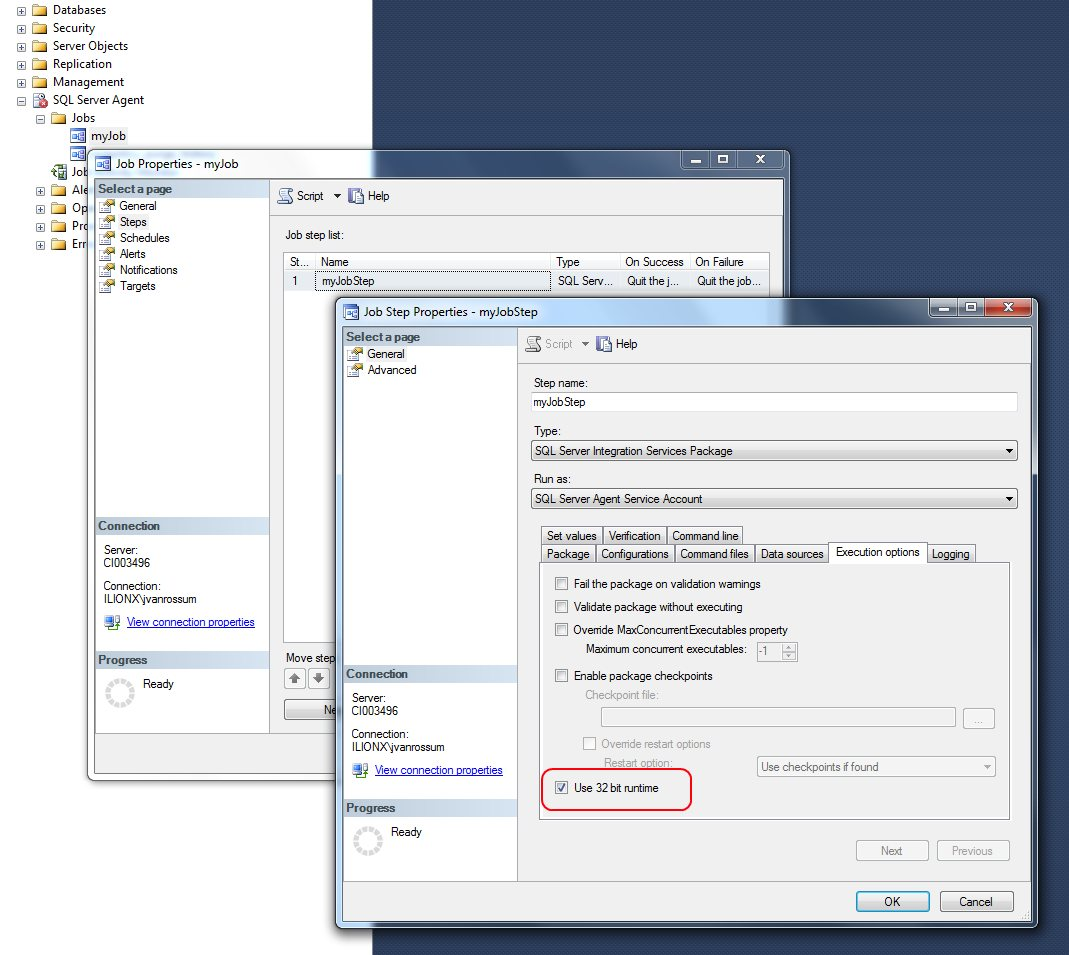 Microsoft SQL Server Integration Services: Switch package