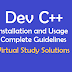 DevC++ Installation and Usage Complete Guidelines