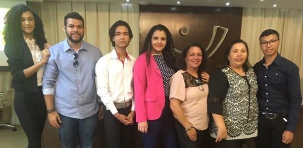 Estudante da Santa Cruz representará o RN no Programa Parlamento Jovem Brasileiro