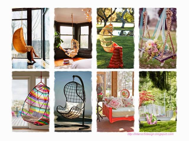 Amazing Swing & Hanging Chair Design Ideas