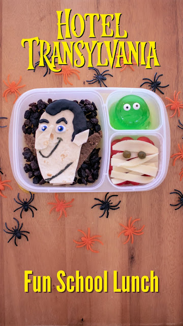 How to make a Hotel Transylvania lunch!