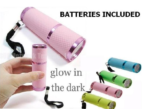 Christmas Gift Ideas for families who love Camping - glow in the dark torch stocking filler