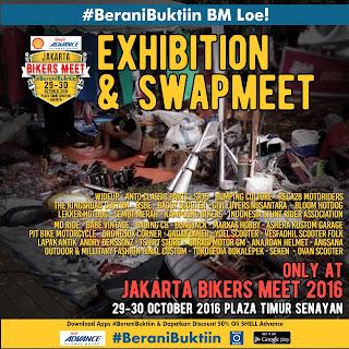 "Serangkaian acara ""Anak Motor"" di Jakarta Bikers Meet 2016"