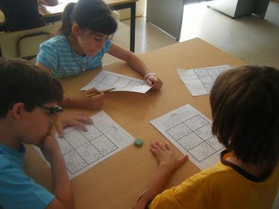 Sudoku, un entretenimento para niños.