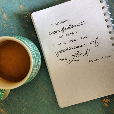 Anchored forever: I WILL SEE THE GOODNESS OF THE LORD IN THE