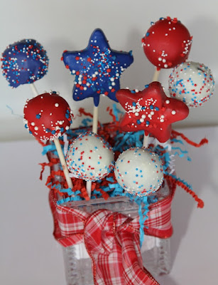 Fourth of July Cake Pops, Fourth of July, 4th of July, July 4, July 4th, July Fourth, Independence Day, cake pop, cake pops, photo, picture, free photo, free picture, free for commercial use, free for commercial use photo, free for commercial use picture, Pixabay