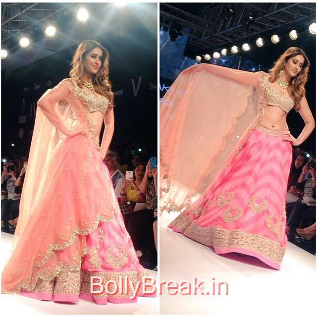 ileana ,dcruz at lakme fashion wk , lfws 2015 ,