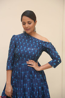 Anchor Anasuya in a Blue Gown at Jai Lava Kusa Trailer Launch ~  Exclusive Celebrities Galleries 043.JPG