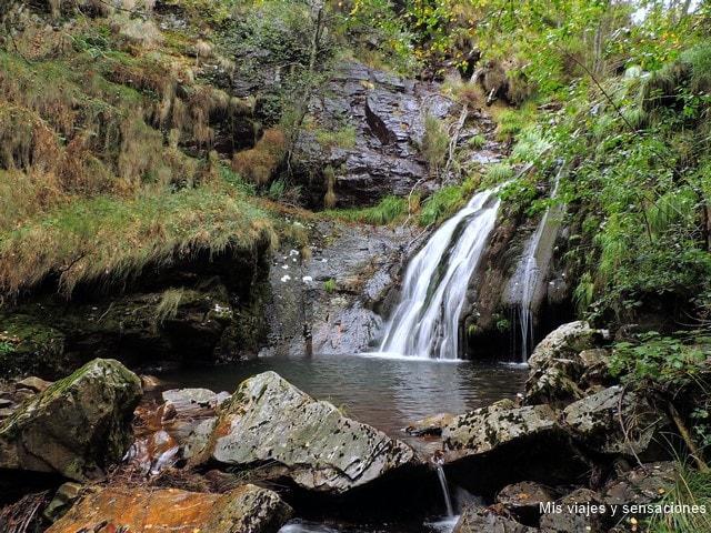 Cascada de Morlongo, Reserva de los Oscos, Asturias