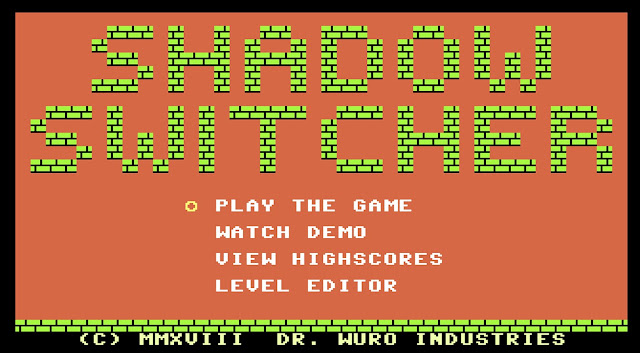 Indie Retro News: Shadow Switcher - A new Commodore 64 game