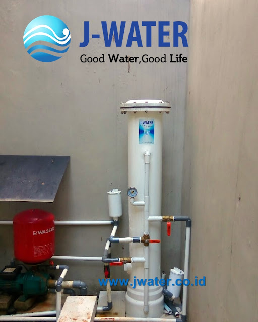 filter air kuning keruh dan bau