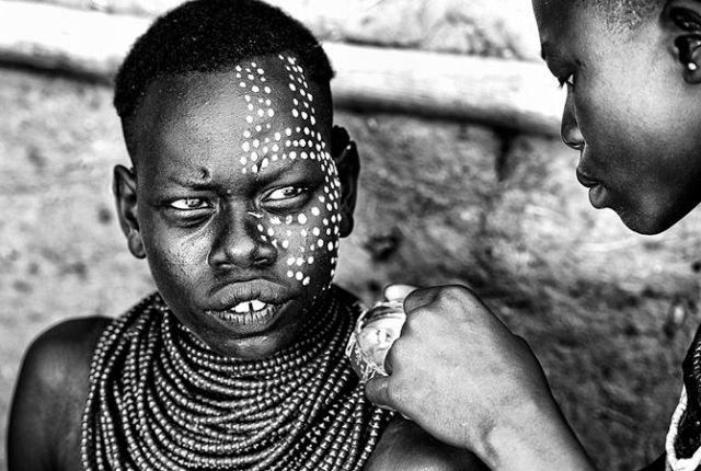 Traditional South African Face Painting