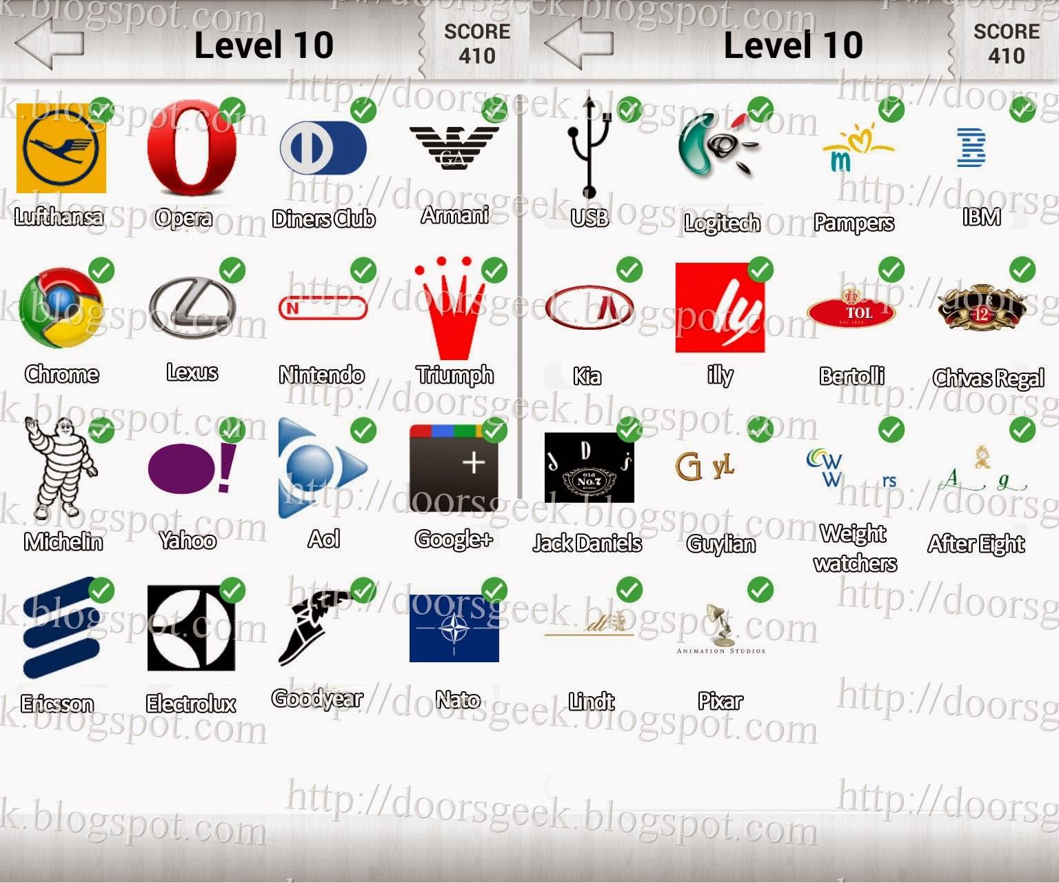 Black and white logo quiz level 4